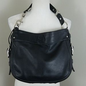 Coach Zoe Leather Hobo Shoulder Purse F12671